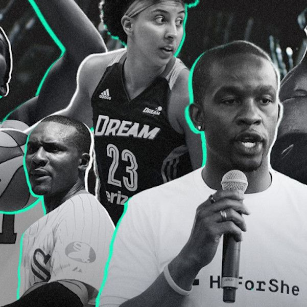 Athletes United: Six sports stars have entered the fight against sexual assault