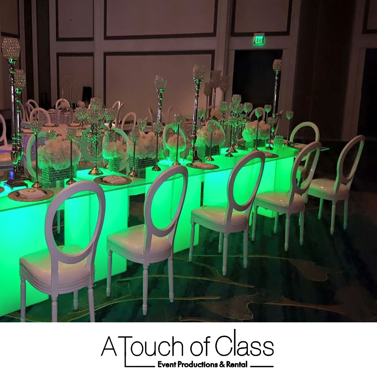 Attrayant A Touch Of Class (305) 639 4749 Table Decorations We Specialize In Creative