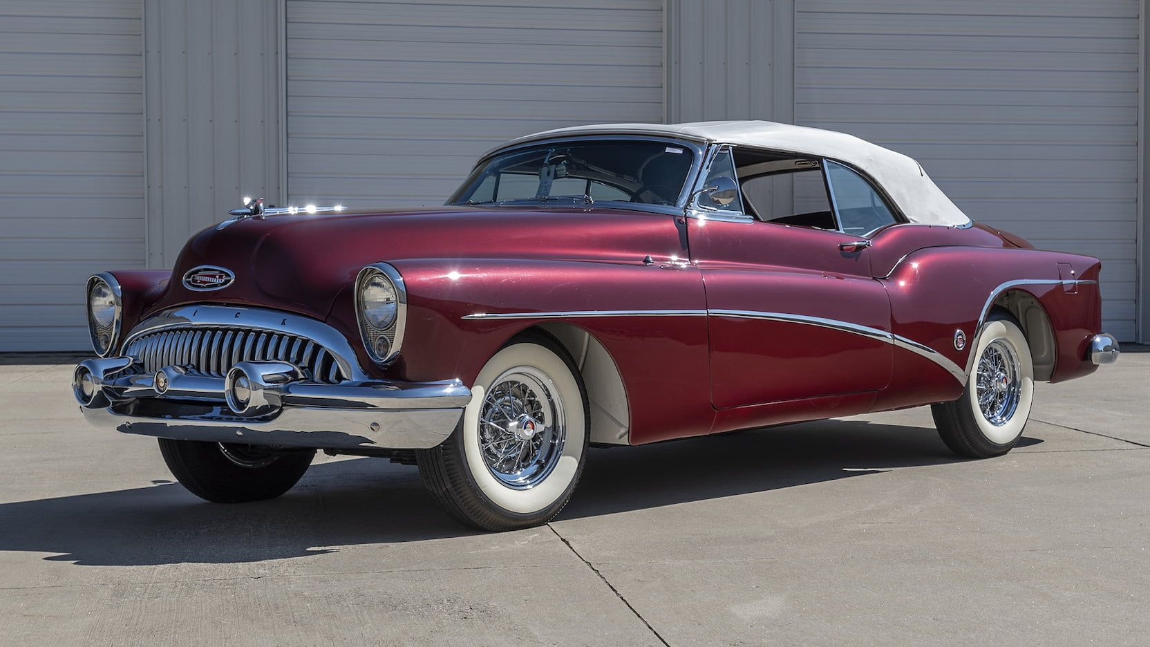 1953 Buick Skylark Convertible presented as Lot F213 at