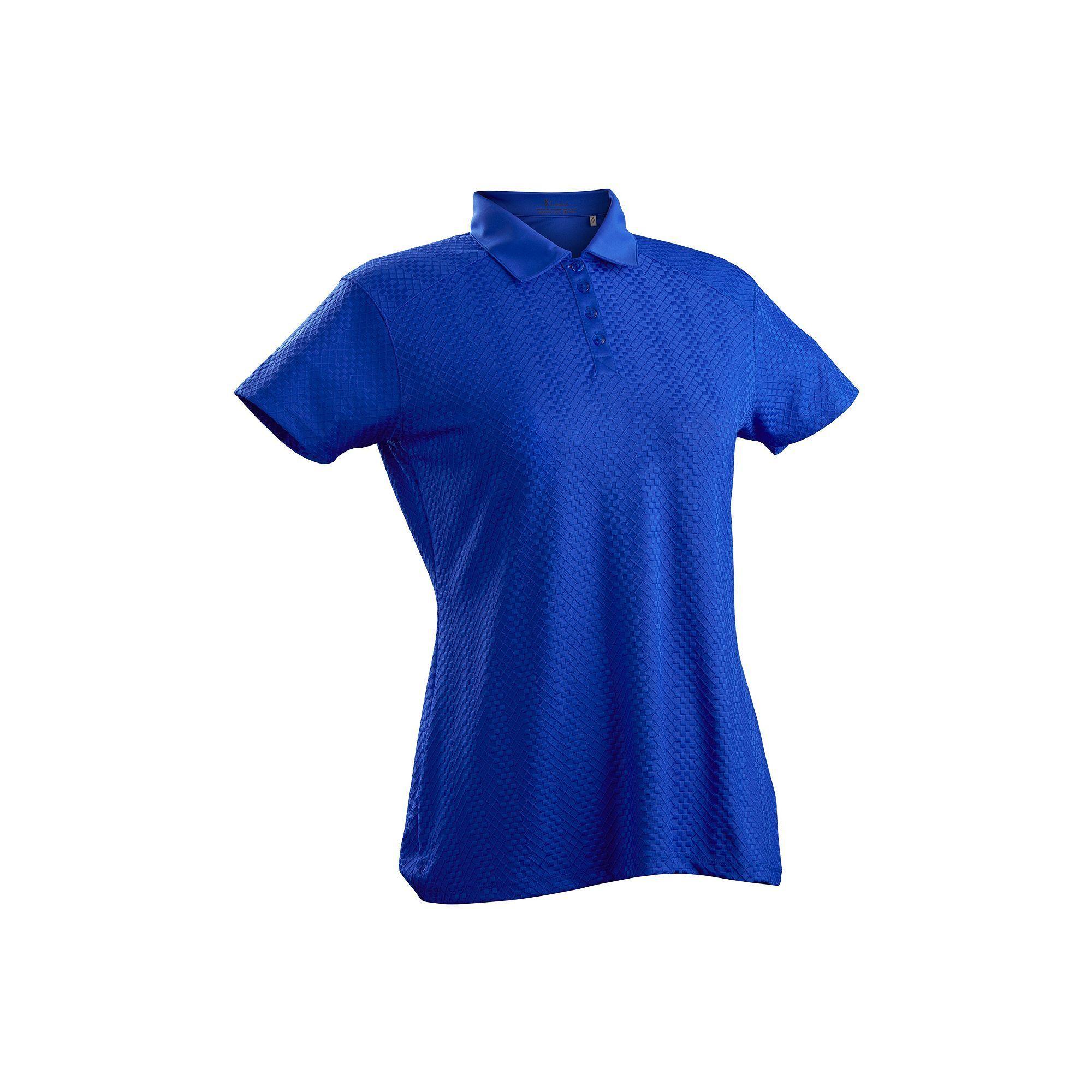 889a5eed604 Plus Size Nancy Lopez Grace Short Sleeve Golf Polo