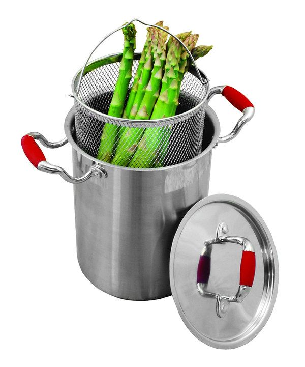 Look at this Excelsteel 4.25-Qt. Stainless Steel Vegetable Cooker Set on #zulily today!