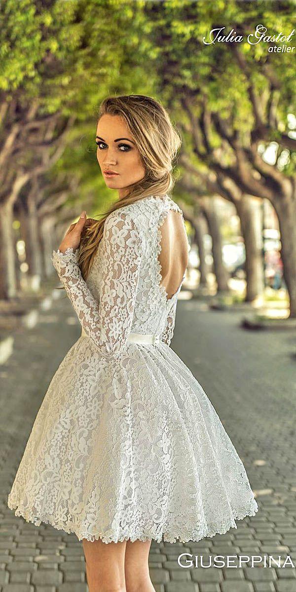 27 Amazing Short Wedding Dresses For Brides Short