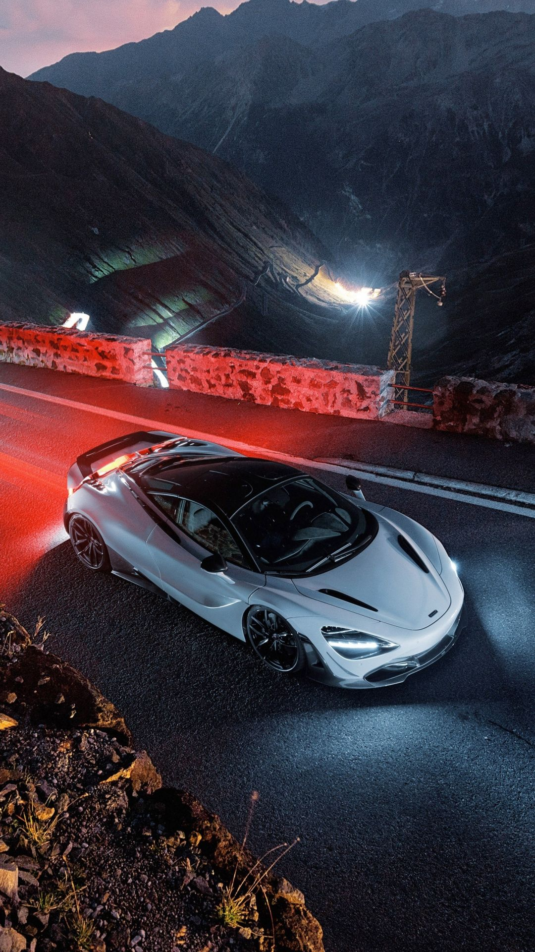 Novitec Mclaren 720s Sports Car On Road 2018 1080x1920 Wallpaper
