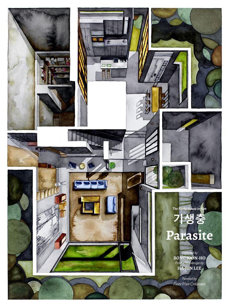Pin On 5 Parasite house floor plan