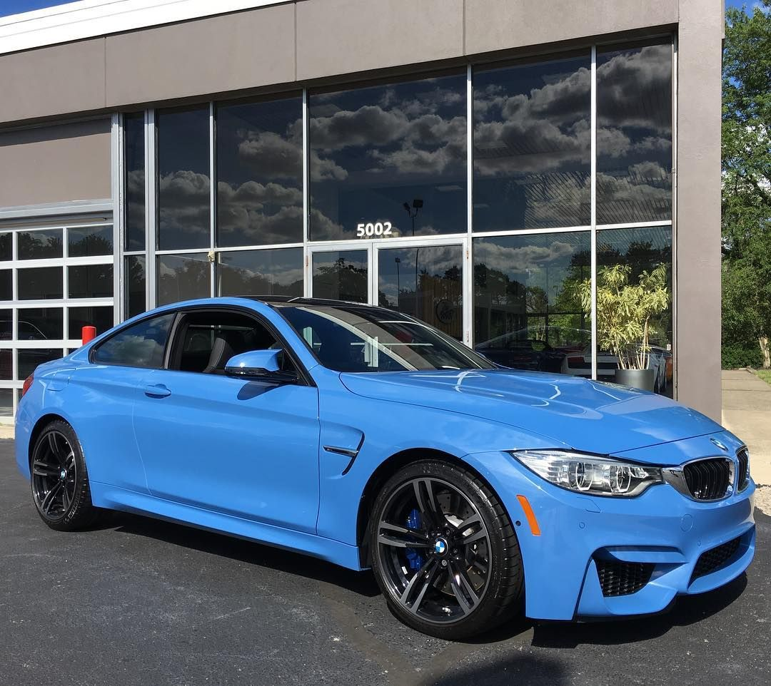 2016 Bmw M4 In Yas Marina Blue Just Arrived And Now For Sale 1849 Miles And Priced To Sell At 72245 Bmw 2016 Bmw M4 Dream Cars
