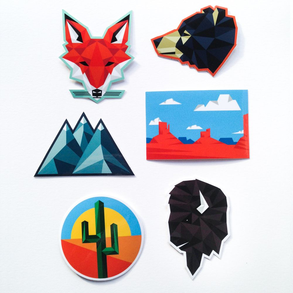 6 Vinyl StickersMade In USAShipping to USA, CAN and AUS only. This is a one man shop. May take up to 2-3 weeks from time of order. I will do my best to get it shipped quickly. Thanks!