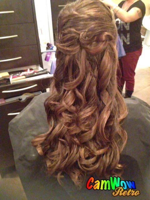 My hair for 8th grade formal(: | Hair, Hair makeup, Hair styles