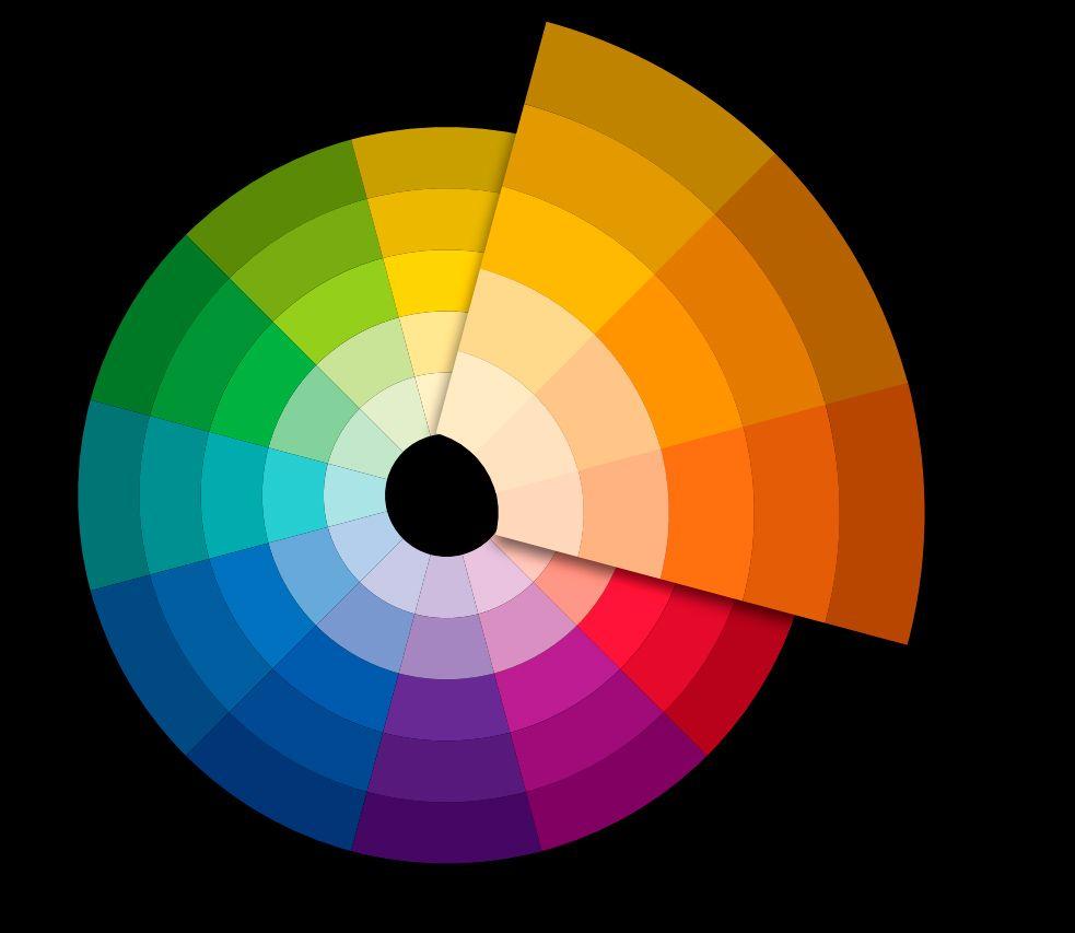 تجربة مصمم تناسق الالوان واختيار نظرة مناسبة لها Design Color Screen Shot
