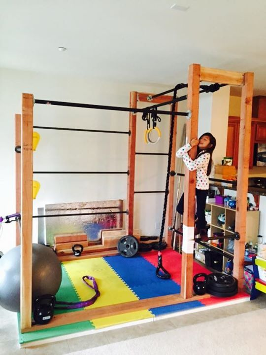 Home Built Bodyweight Exercise Rack By Damien Del Russo Building A House Underground Shelter Home Decor
