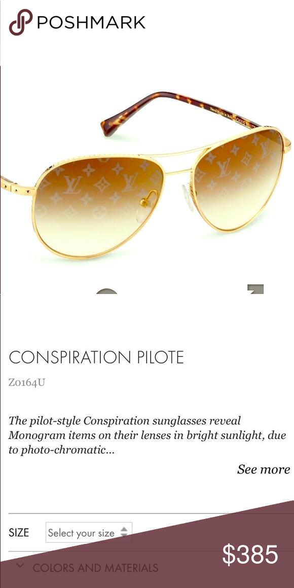 e6d94237687f CONSPIRATION PILOTE sunglasses Gold