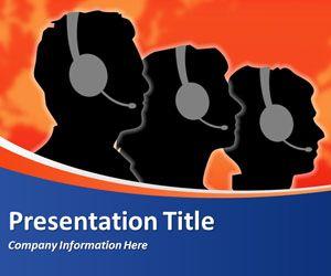 Free call center powerpoint template | freetemplatestheme. Com.