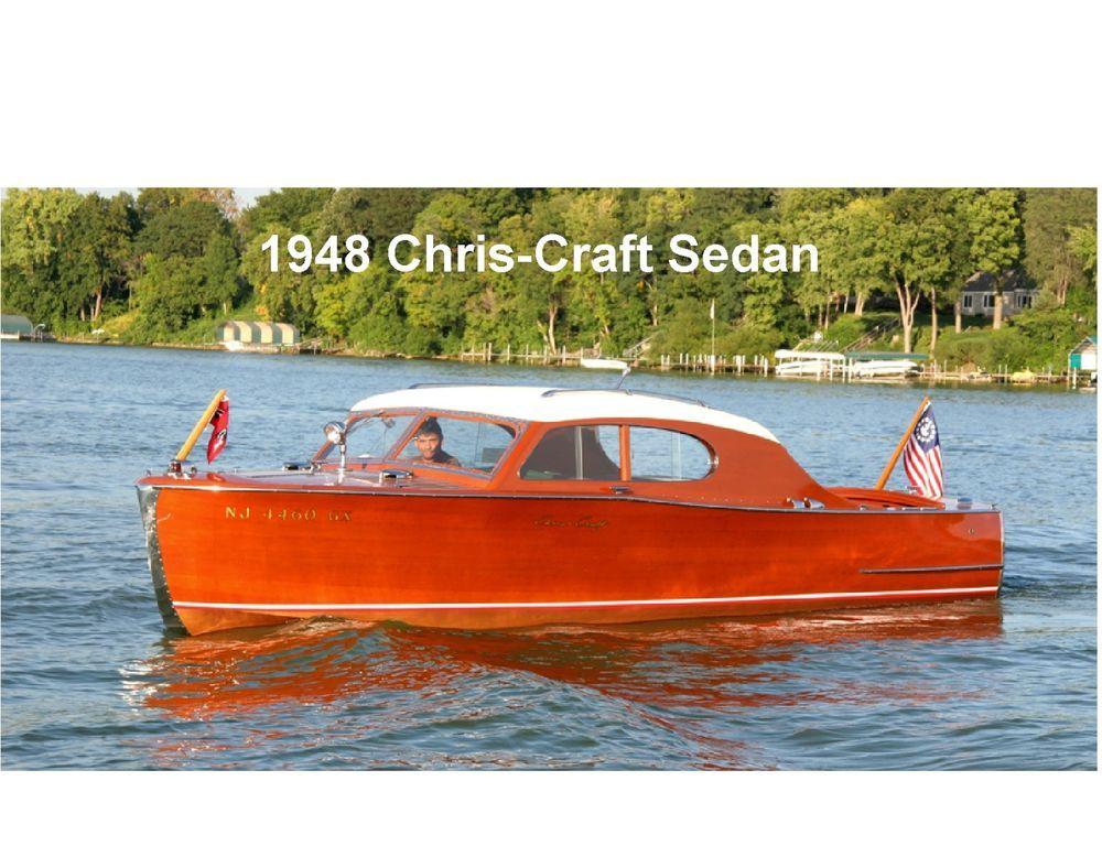 1948 Chris Craft Boat Sedan Refrigerator Tool Box Magnet Chris Craft Boats Chris Craft Boat