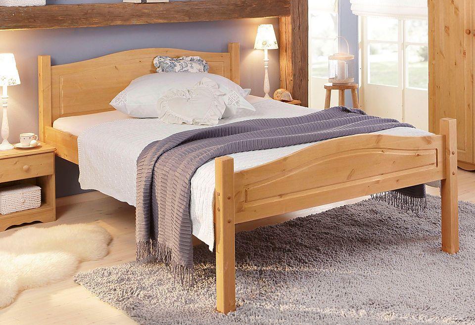 Bett, Home affaire, »Emden« Jetzt bestellen unter   moebel - schlafzimmer kiefer massiv