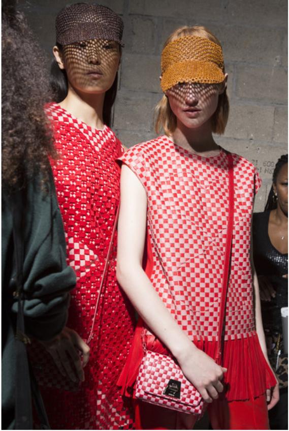 Akris at Paris Fashion Week Spring 2018 - Backstage Runway Photos
