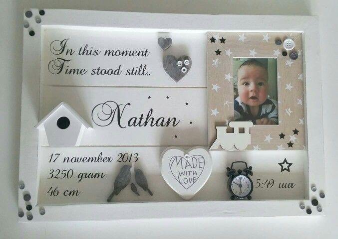 Het geboortebord voor Nathan van Troetel.com