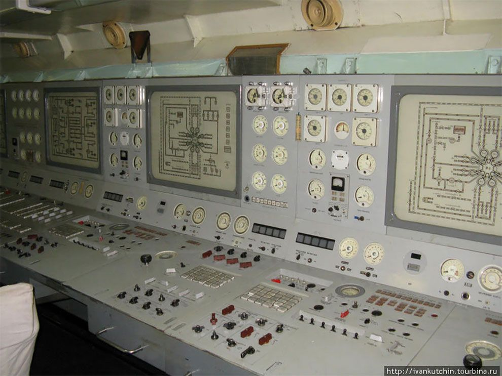 The Vintage Beauty Of Soviet Control Rooms Unusual Design