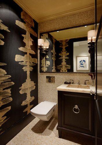 Vallejo Street Highrise - eclectic - powder room - san francisco - Design Line Construction, Inc.
