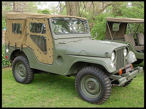 1954 Willys M38 Jeep Complete Canvas Covering Mecum Auctions