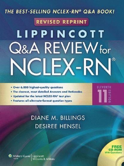 Lippincott's Q&A Review for NCLEX-RN 11th Edition PDF | Nclex ...