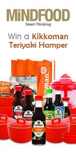#RePin to #Win a Kikkoman Teriyaki Hamper! #food #delicious #competition