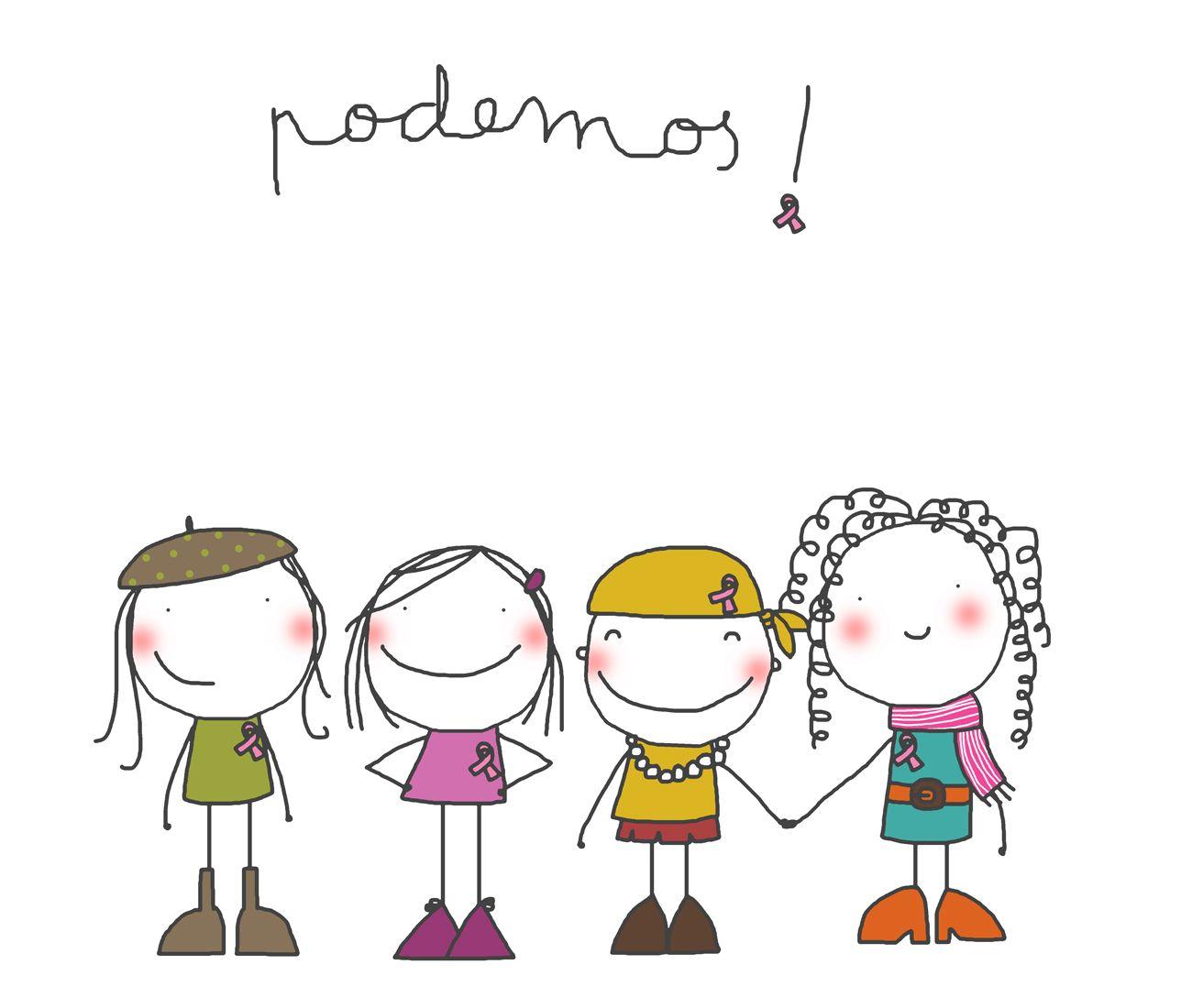 Lucha Contra El Cancer De Mama Dibujos Faciles Ilustraciones Dibujos Bonitos