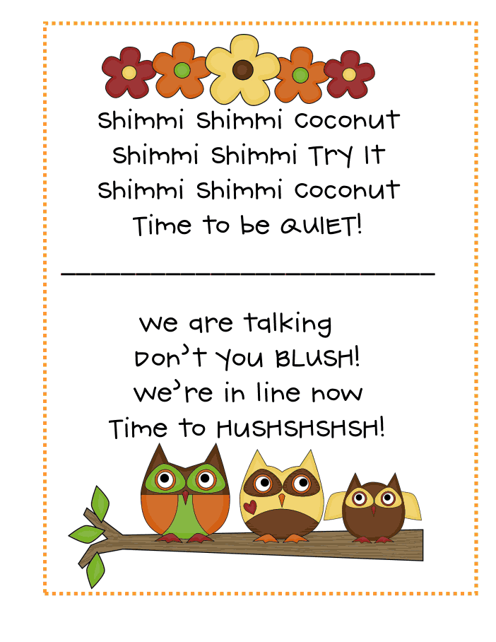 Classroom Line Up Ideas ~ Line up chants we love pdf transition songs pinterest