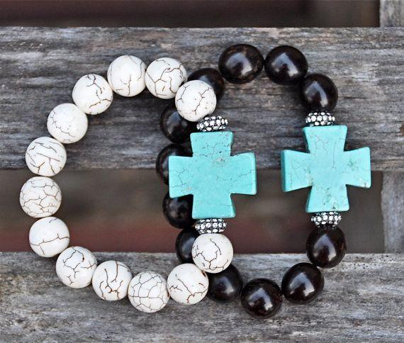 New Arrival Trendy Cross Beaded Bracelets / Rhinestone Pave Barrel / New Spring Summer 2014