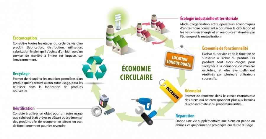 L Economie Circulaire Dans L Entreprise Et Ses Consequences Sur Les Achats Economie Circulaire Ecologie Industrielle Economie