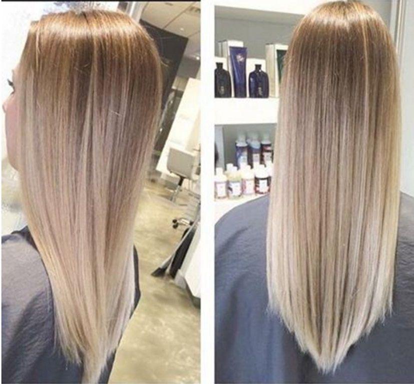 Frisur lange haare v schnitt