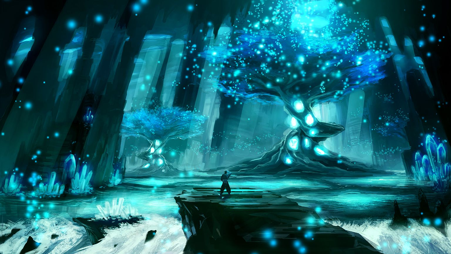 underwater caves crystal caves fantasy pictures fantasy world fantasy ...