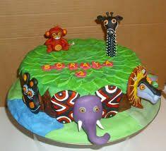 Resultado de imagen para animalitos de la selva . como hacer adornos de tortas