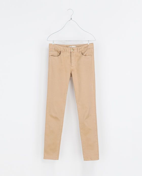 ZARA - WOMAN - COLORED SATIN TROUSERS