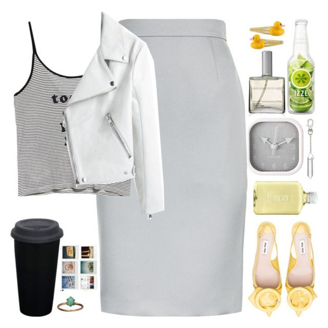 """""""Wendy%"""" by gb041112 ❤ liked on Polyvore featuring Elemental Herbology, Karlsson, Miu Miu, H2O+, Clips, ESCADA and MANGO"""