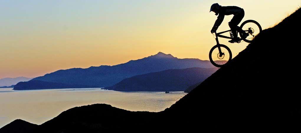 Mountain bikers' paradise, Capoliveri, Elba island, Tuscan