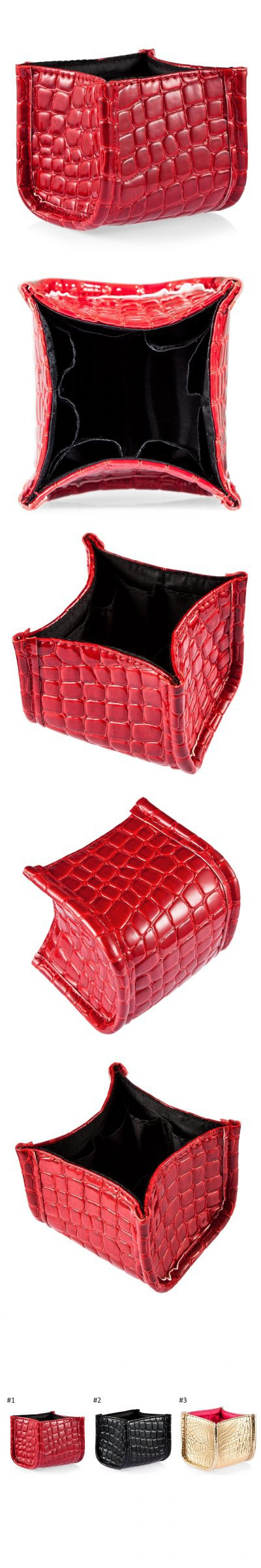 Fashion High-capacity Cosmetic Brush Storage Box