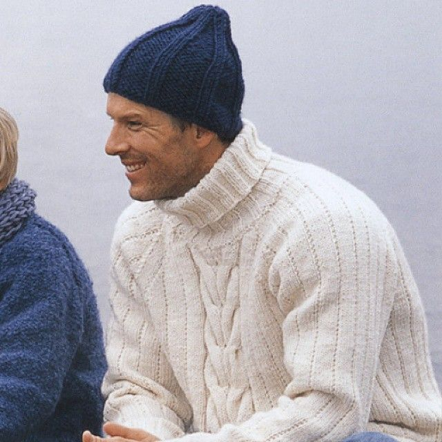 Jumpers, cardigans and hats, light or bulky, these are all key pieces in every gentleman's winter wardrobe.  See the #DROPSDesign inspirations here: http://bit.ly/1tbOr9B  #DROPSfan #Garnstudio #knitting #crochet #inspiration #handmade