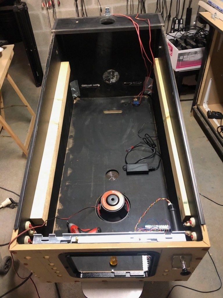 Virtual Pinball – Building the Cabinet