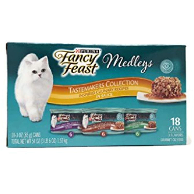 Fancy Feast Elegant Medleys Tastemakers Collection. Turkey