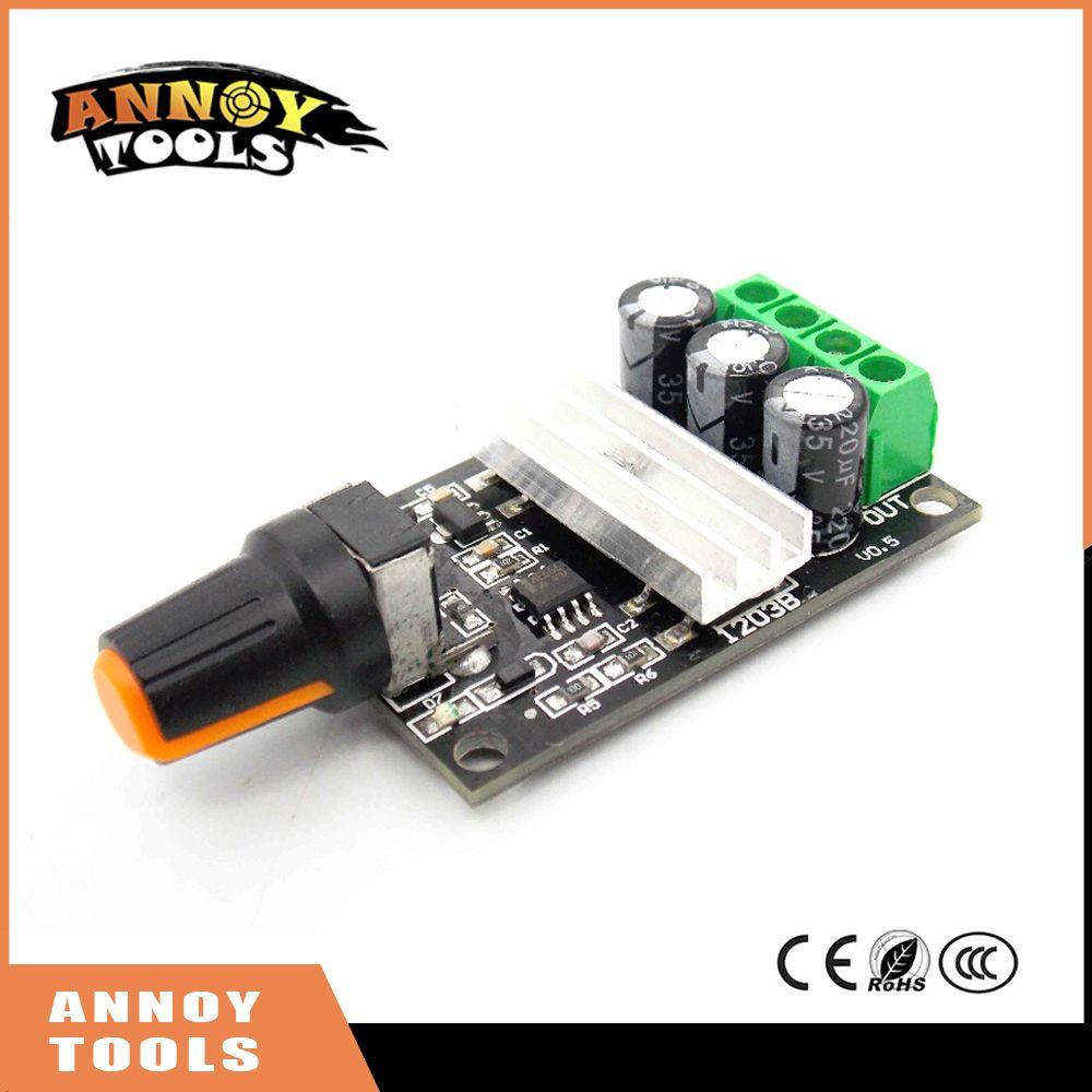 High Quality PWM DC 6V 12V 24V 28V 3A Motor Speed Control New Switch ...
