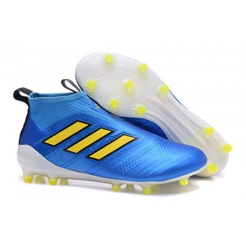 low priced e2f38 78352 Adidas ACE 17 Purecontrol FG Dragon Football Boots Yellow Blue