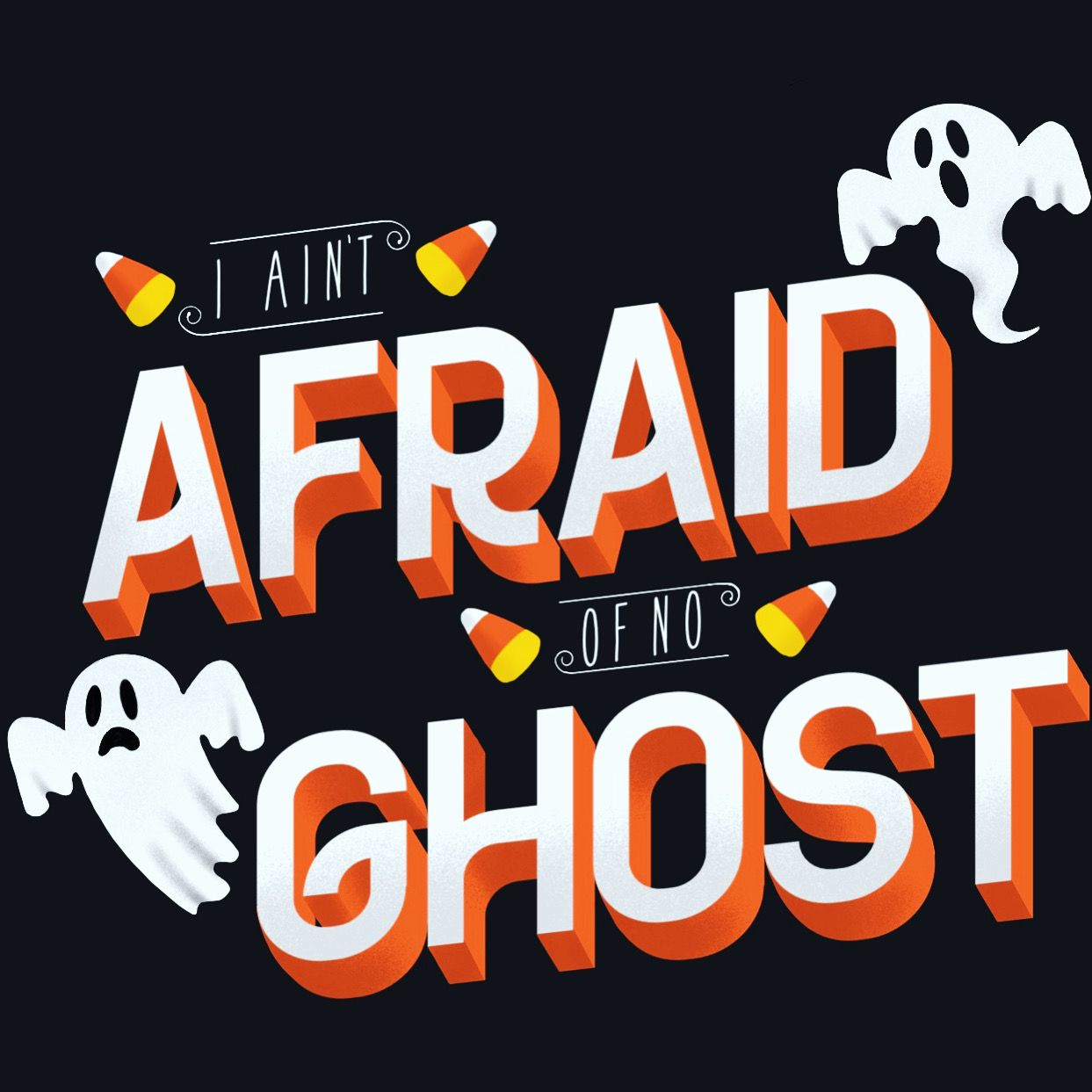 procreate halloween lettering handlettering (With