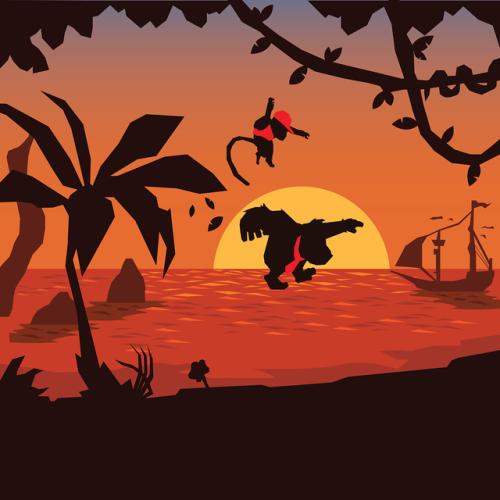 Donkey Kong Country Returnsart By Jihwan Yoon Donkey Kong Country Donkey Kong Country Returns Donkey Kong