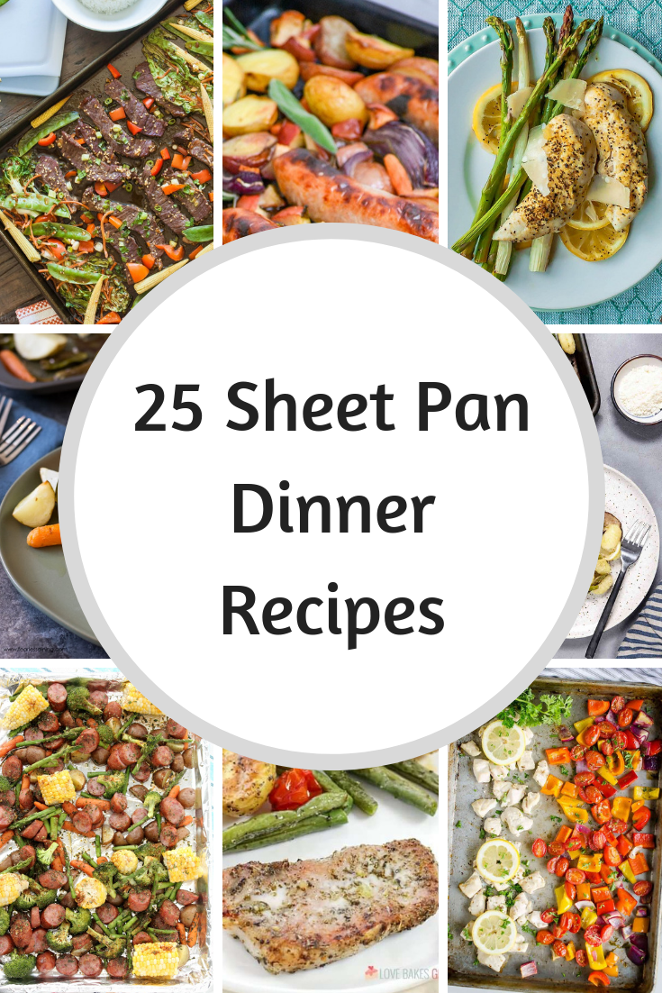 25 Sheet Pan Dinners images