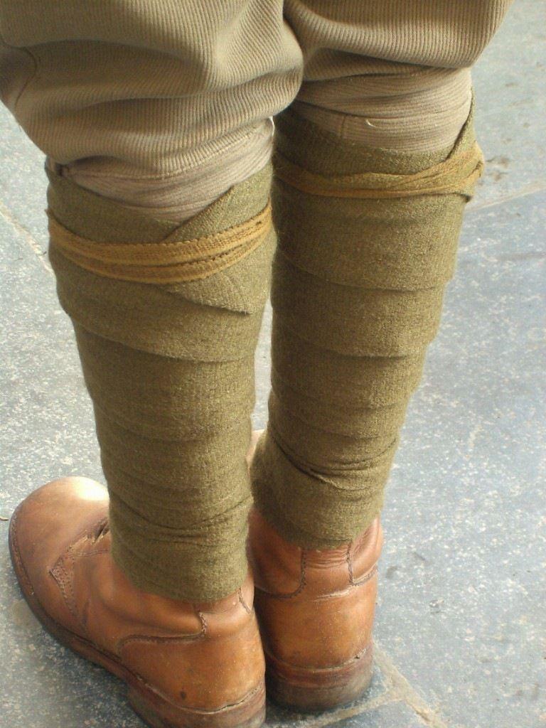Puttees Fashion Military Fashion Army Uniform