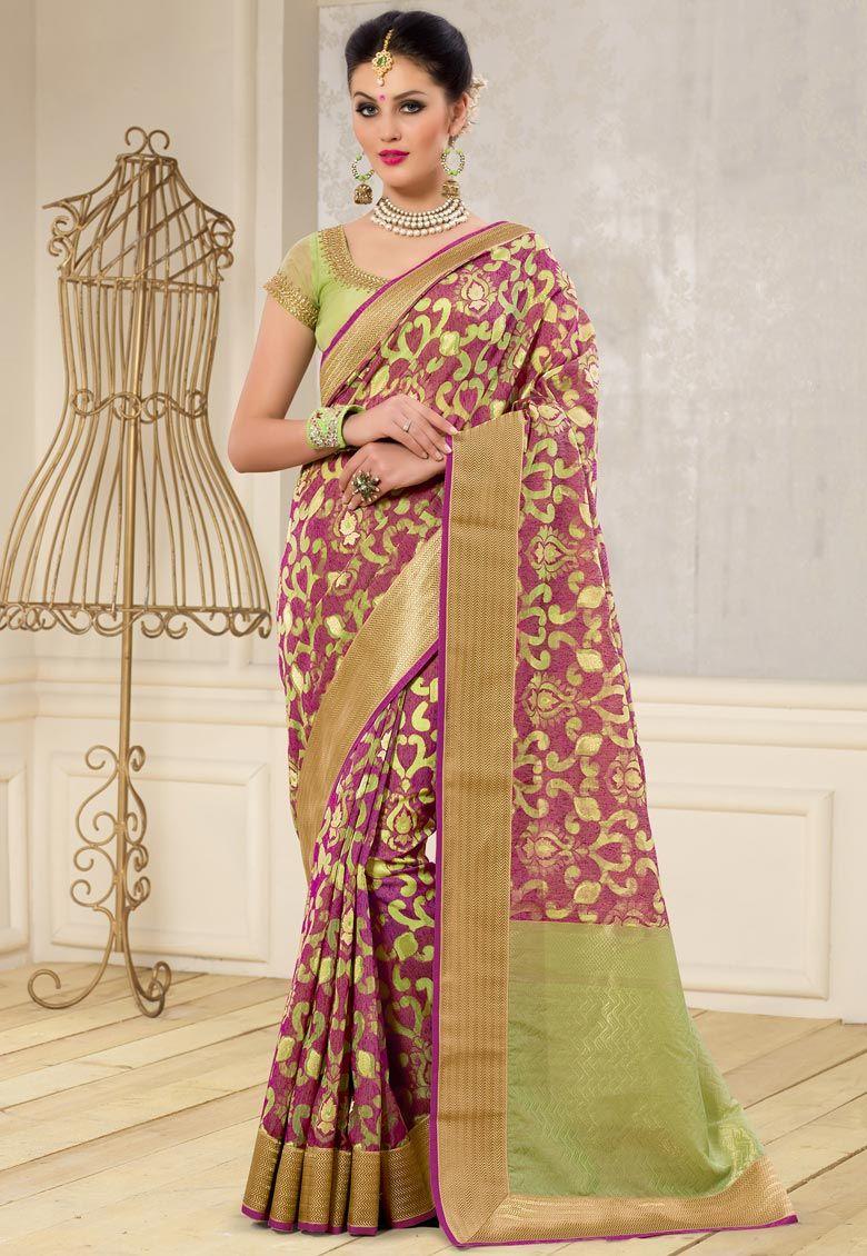 be5d8b1b1efbe0 Pin by Desi Butik on Designer Sarees | Kora silk sarees, Bridal silk ...