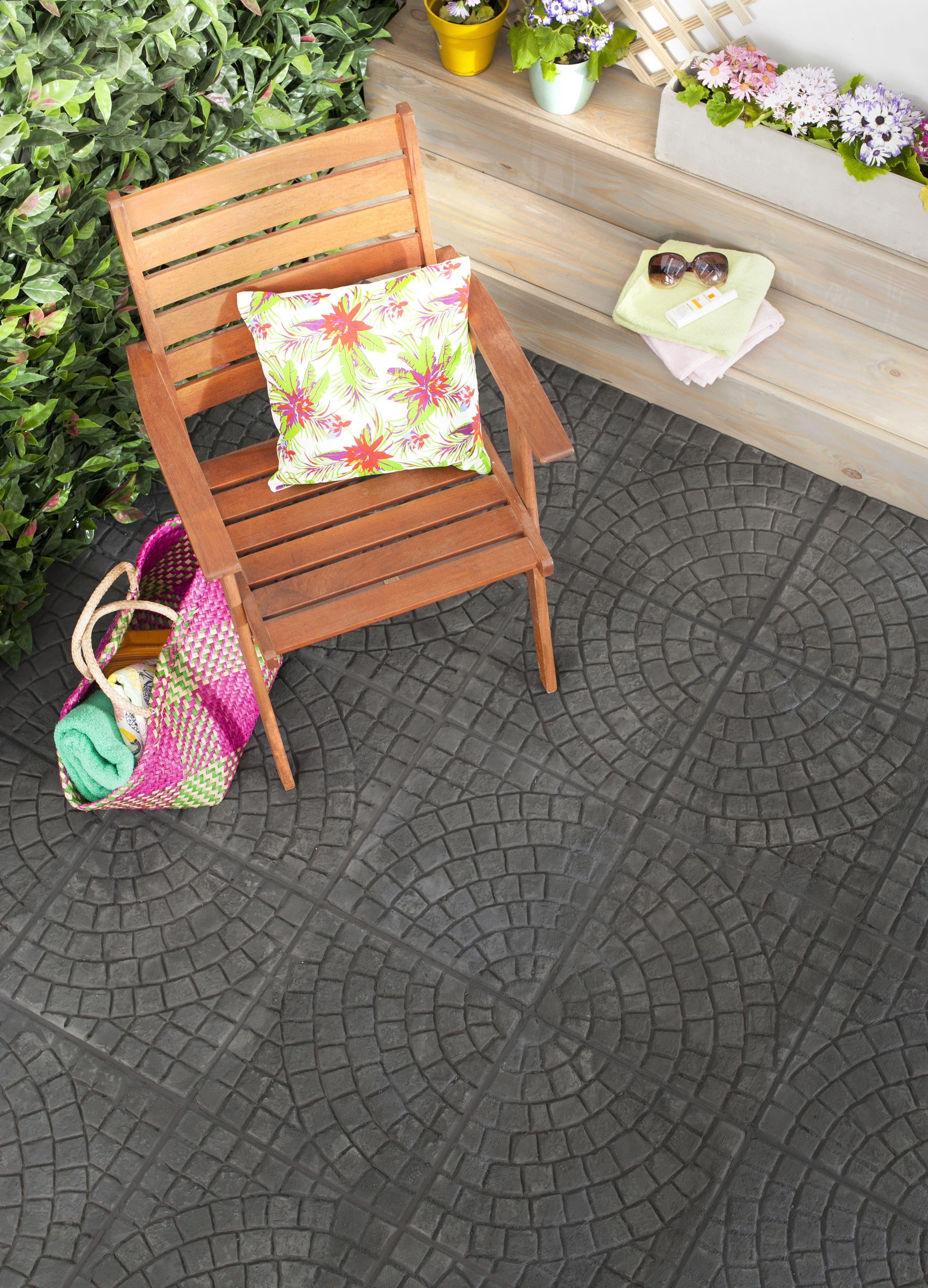 Adoquin Negro #adoquin #ceramica #exterior #pisos # ...