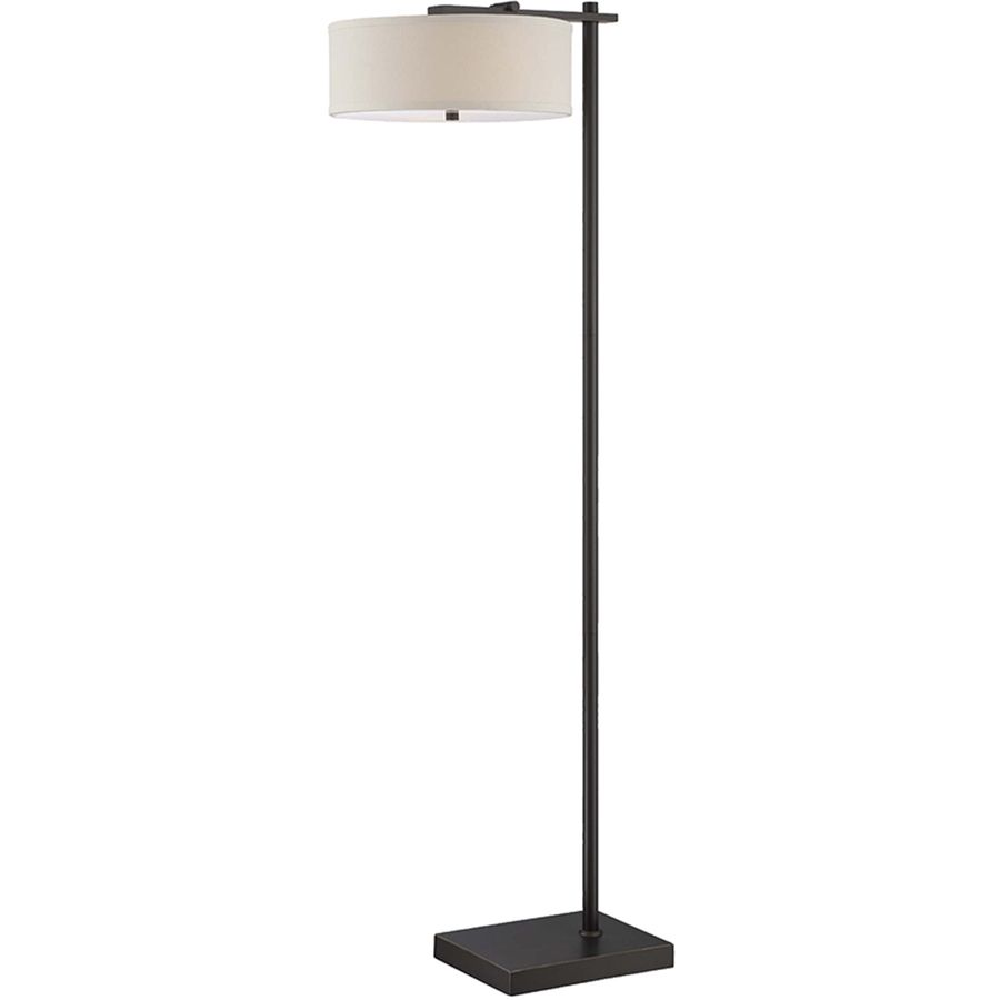 Floor Lamps At Lowes Impressive Shop Lite Source Primavera 65In Dark Bronze Indoor Floor Lamp With Decorating Inspiration