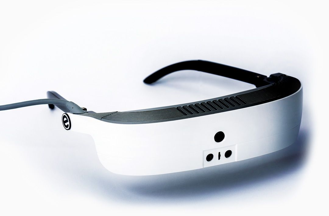 2a74bdc1d5 eSight 3 Electronic Glasses allow the legally blind to see using  high-definition camera to capture everything the user is looking at.