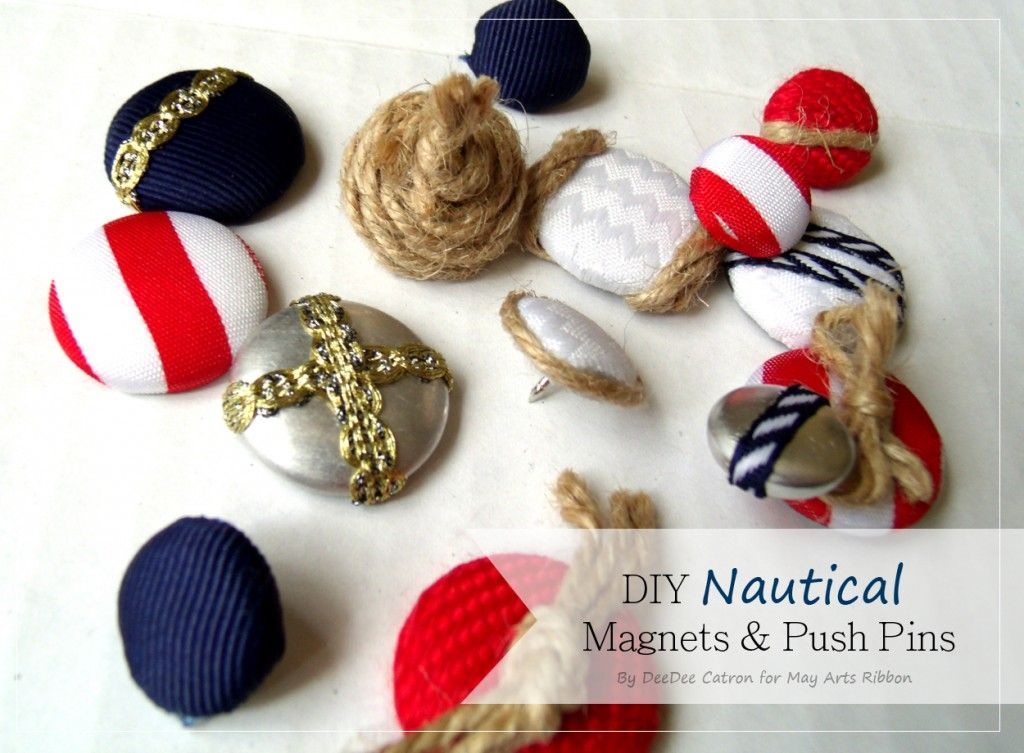 Nautical Craft Challenge Inspiration: Nautical Magnets ...