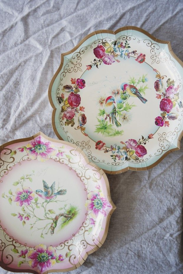 Disposable tea party plates. Now I need disposable tea cups! Does anyone make them? Someone really should make disposable teacups. & TRULY SCRUMPTIOUS SERVING PLATES BY SHOP SWEET LULU | Tea parties ...